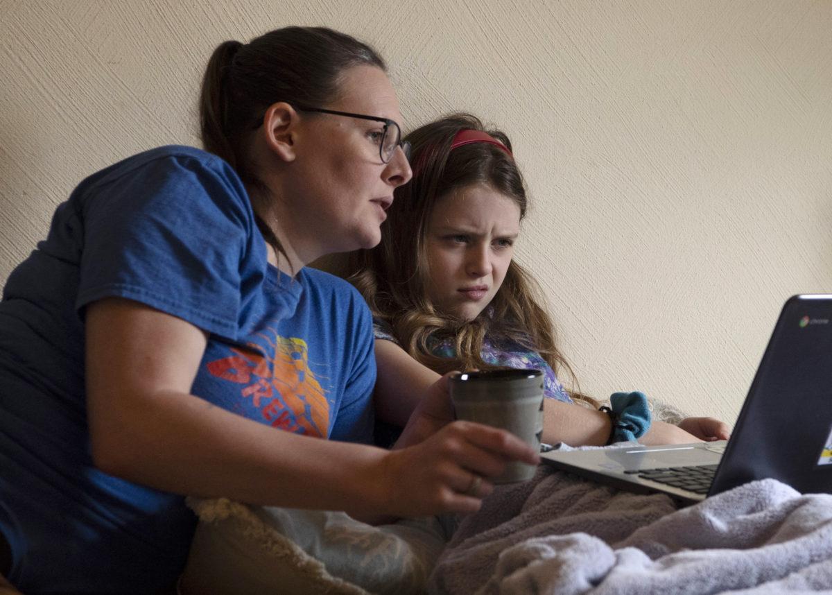Im Lockdown vermissten die Eltern den Kontakt zur Schule
